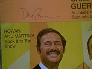 Rowan, Dan  and Dick Martin Look Magazine 1968 Signed Autograph Laugh In Color Cover Photo
