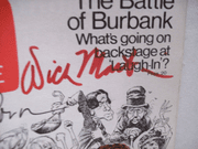 Rowan, Dan Dick Martin TV Guide Signed Autograph Laugh In