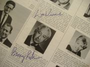Rubin, Benny Len Weinrib Have A Jewish Christmas Signed Autographed LP