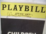 Rubinstein, John Playbill Signed Autograph Children of a Lesser God 1981
