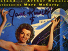 """Russell, Jane  7"""" Double 45 RPM With Picture Cover """"The French Line"""" Signed Autograph"""