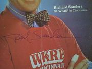Sanders, Richard  TV Week Magazine 1981 Signed Autograph WKRP In Cincinnati Color Cover Photo