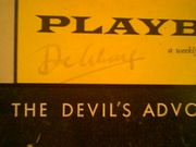 Schary, Dore  The DevilS Advocate 1961 Playbill Signed Autograph