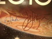 Scheider, Roy John Lithgow LP Signed Autograph 2010 The Year We Make Contact 1984