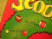 Scooby Doo LP Signed By 2 Autograph Exciting Christmas Stories Casey Kasem Don Messick 1978