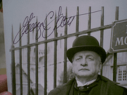 Scott, George C. The Murders In The Rue Morgue 1986 Photo Signed Autograph Movie Scene With Byline