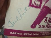 Sinatra, Frank and Edward G Robinson High Hopes 1959 Sheet Music Signed Autograph A Hole In The Head