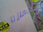 Skelton, Red  Ava Gardner 1950S LP Signed Autograph Show Boat Lovely To Look At