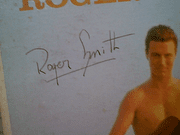 Smith, Roger  Beach Romance LP 1960 Signed Autograph Color Photo