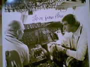 Snyder, Tom  Nbc Photo 1974 Signed Autograph With Byline Tomorrow Show