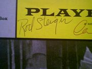 Steiger, Rod  and Claire Bloom 1959 Playbill Rashomon Signed Autograph