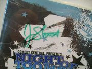 Stewart, Jon Dvd Signed Autograph Night Of Too Many Stars Comedy Central