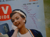 Storm, Gale  1959 TV Guide Magazine Signed Autograph Color Cover Photo