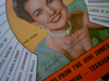 """Storm, Gale """"Song Hits"""" Magazine 1957 Signed Autograph Color Cover Photo"""