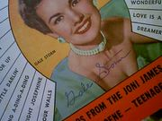 Storm, Gale Song Hits Magazine 1957 Signed Autograph Color Cover Photo