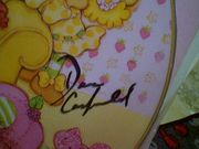 Strawberry Shortcake LP Signed Autograph Picture Disc Daniel Canfield Sarah Heinke
