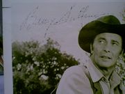 Sullivan, Barry  1960S Photo Signed Autograph The Tall Man
