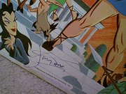 Tapp, Jimmy LP Signed Autograph The Mighty Hercules