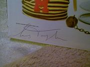 Taylor, Irving LP Signed Autograph The Whimsical World Of 1959