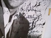 Thaxton, Lloyd Photo Signed Autograph Black And White Deejay