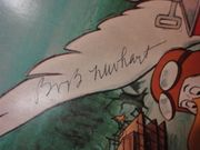The Rescuers Bob Newhart Geraldine Page 1977 LP Signed Autograph Walt Disney With Color Story Booklet