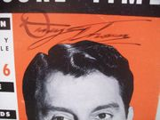 Thomas, Danny Leisure Time Magazine Signed Autograph Sept 6 1953