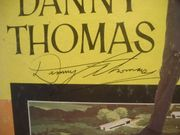Thomas, Danny LP Signed Autograph The Jazz Singer