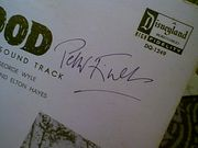 Todd, Richard Peter Finch LP Signed Autograph The Story Of Robin Hood Disney