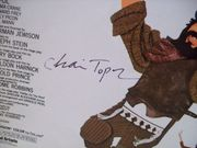 Topol, Chaim Sheet Music Signed Autograph If I Were A Rich Man Fiddler On The Roof 1964