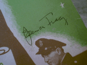 Tracy, Spencer  Van Johnson Thirty Seconds Over Tokyo 1944 Sheet Music Signed Autograph