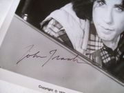 Travolta, John Photo Signed Autograph Pulp Fiction Grease Carrie Hairspray Saturday Night Fever 1976