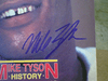 """Tyson, Mike  """"The Ring"""" Magazine 1986 Boxing Signed Autograph Color Cover Photo"""