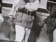 Ustinov, Peter Photo Signed Autograph BlackbeardS Ghost Walt Disney 1977