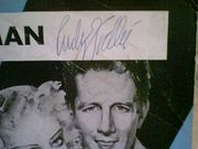 Vallee, Rudy  Alice Faye Jimmy Durante Nasty Man 1934 Sheet Music Signed Autograph George WhiteS Scandals