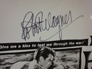 Wagner, Robert Between Heaven And Hell 1956 Photo Signed Autograph