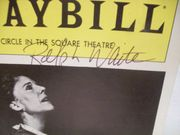 Waite, Ralph Playbill Signed Autograph The Father 1981