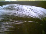 Walken, Christopher  Early Photo Signed Autograph