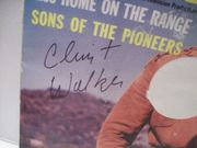 Walker, Clint Picture Sleeve Signed Autograph Cheyenne