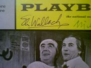Wallach, Eli  and Milo OShea 1968 Playbill Staircase Signed Autograph Cover Photo
