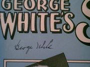 White, George  My Song 1931 Sheet Music Signed Autograph Scandals