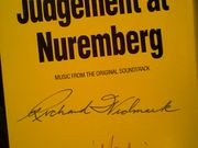 Widmark, Richard Burt Lancaster Marlene Dietrich Judgement At Nuremberg 1986 Sealed LP Signed Autograph
