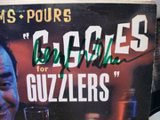 Williams, Beryl LP Signed Autograph Giggles For Guzzlers