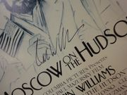 Williams, Robin Freedom 1984 Sheet Music Signed Autograph Moscow On The Hudson