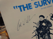 Williams, Robin Theme From Survivors 1983 Sheet Music Signed Autograph Cover Photo