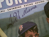 "Williams, Ted  ""Sport Magazine"" 1947 Signed Autograph Color Baseball"