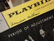 Williams, Tennessee Period Of Adjustment 1961 Playbill Signed Autograph