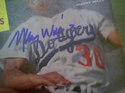 Wills, Maury  1963 Sport Magazine Signed Autograph Color Cover Photo Baseball