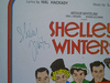 """Winters, Shelley  """"Minnie's Boys"""" 1970 Sheet Music Signed Autograph"""