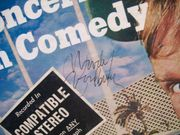 Woodbury, Woody LP Signed Autograph Concert In Comedy 1961