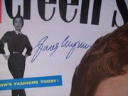 Wyman, Jane Magazine Screen Stories Signed Autograph November 1955